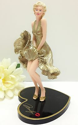 Golden Goddess Marilyn Monroe Figurine -  Bradford Exchange