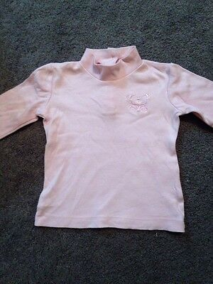 Baby Girls Long Sleeved Top Size 00 EUC