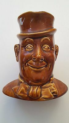 Old SYLVAC Toby Character Mug # 1453 Man w/ Hat & Bow Tie Made In England !!!