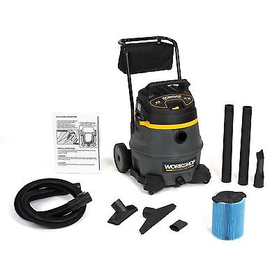 WORKSHOP Wet Dry Vac WS1400CA High Power Wet Dry Vacuum Cleaner, 14-Gallon