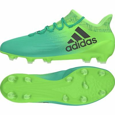 d969a104a93d ADIDAS BB5839 X 16.1 FG football boots in green Or Price recommendation -  £93.79