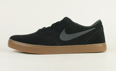 Shoes Nike SB Check Mens Black Antracite Dark Brown