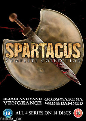 Spartacus: Complete Collection Box Set - All 4 Series - NEW & SEALED