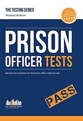 Prison Officer Tests: Sample test questions for the Prison Officer Selection Te