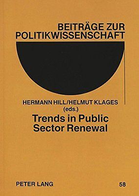 Trends in Public Sector Renewal: Recent Developments and Concepts of Awarding E