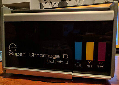 Omega Enlarger Super Chromega D Dichroic Ii Lamphouse Color Head