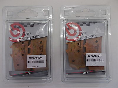 Brembo 4 Front Brake Pads Race Ducati Panigale S Tricolor 1200 2013