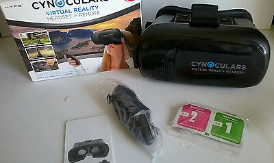 6687cc21d388 Cynoculars Virtual Reality Headset And Remote 3D MOVIES AND GAMES AS SEEN  ON TV