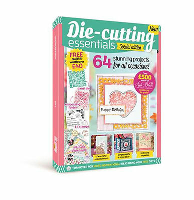 Die Cutting Essentials Magazine - Special Edition No 4 - Free Kit Worth Over £40