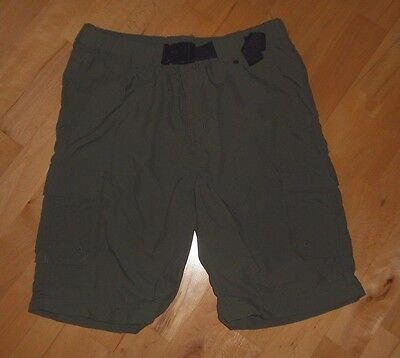 Women's Size S Official Boy Scouts of America Switchback Green Nylon Shorts