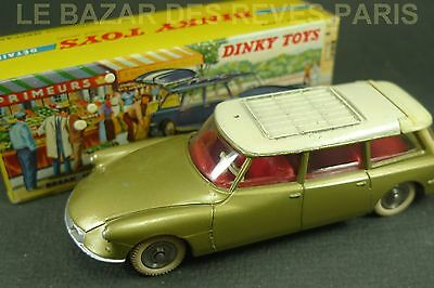 DINKY TOYS FRANCE. CITROEN ID 19 Break.+ Boite.  REF: 539.