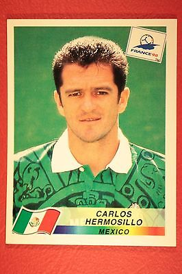 Panini Wc Wm France 98 1998 N. 366 Mexico Hermosillo With Black Back Mint!!