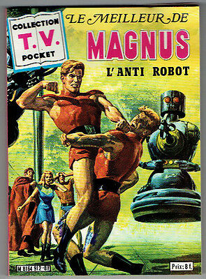 MAGNUS L'ANTI ROBOT (Russ Manning) - Sagédition – 1980 – TBE