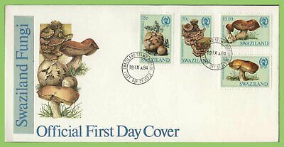 Swaziland 1984 Fungi set on First Day Cover