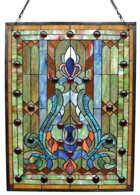 Victorian Glass Panel