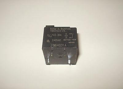 Potter & Brumfield/TE Connect T9AS1D22-24 PC BOARD Power Relay SPST-NO 24VDC 30A