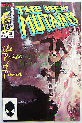 New Mutants #25 ☆ 1st Cameo LEGION David Haller ☆ FX TV Series ☆ X-Men KEY ISSUE