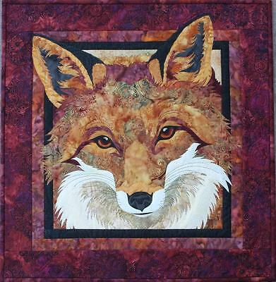 Red Fox Toni Whitney Fusible Applique Quilting Quilt Pattern
