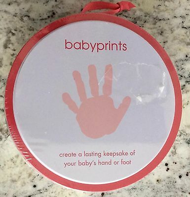 PEARHEAD Babyprints Hand or Foot Keepsake  with Display Easel-New!