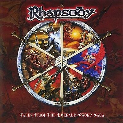 Rhapsody - Tales from the Emerald Sword Saga [New CD] Japanese Mini-Lp Sleeve, S