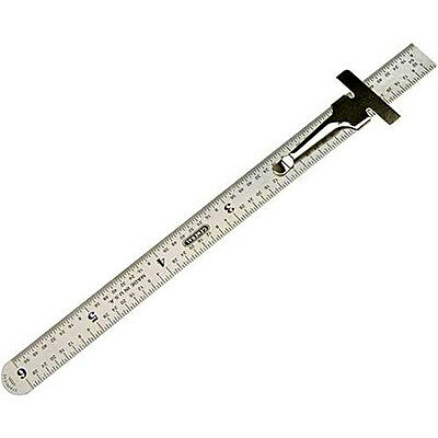 "Benchmark Tools 5 Ea 6/"" 5R Rigid Machinist Ruler Grads Brushed Stainless Steel"