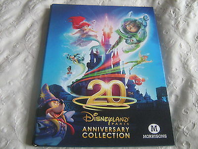 Morrisons 20th Disneyland Paris Anniversary collection trading cards