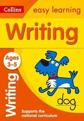 Writing Ages 3-5 by Collins Easy Learning Paperback Book (English)