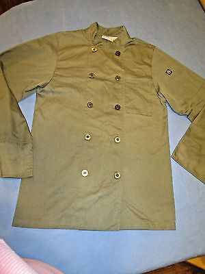 Chef Works Chef Jacket Culinary Olive Green Size XS