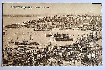 CONSTANTINOPLE Turkey Old Postcard Not Used Good Condition