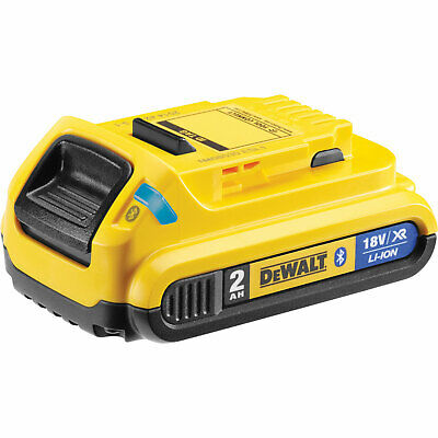 DeWalt DCB183B 18v XR Cordless Bluetooth Li-ion Battery 2ah