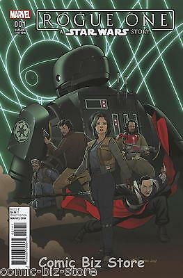 Star Wars Rogue One Adaptation #1 (Of 5) (2017) Scarce 1:10 Droids Variant Cover