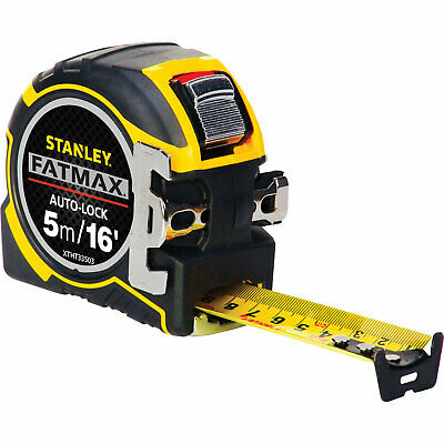 Stanley FatMax Pro Autolock Tape Measure Imperial & Metric 16ft / 5m 32mm