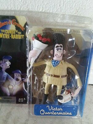 Wallace and Gromit figures Victor Quartermaine Curse of the Were Rabbit