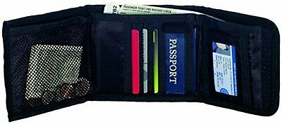 Travel Smart RFID Trifold ID Security Wallet Black by Conair