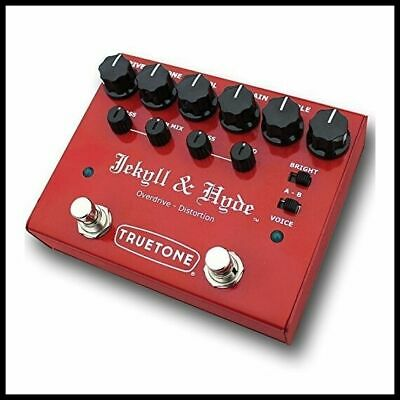 Visual Sound V3 Jekyll + Hyde Overdrive + Distortion Guitar Effects Pedal V3JH