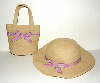 NEW Talbots Kids Girls Spring Purse and matching Hat
