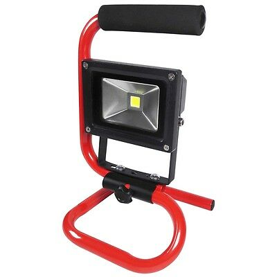 230v 10w Cob LED Portable Worklight - Amtech Work Lamp Adjustable Builders Light