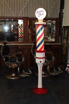 1920-30's Vintage Barber Shop Pole Floor Model Kochs