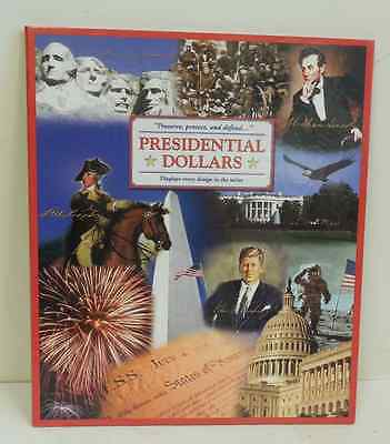 39 pc Set of Uncirculated Presidential Dollar Coins In Large Color Folder