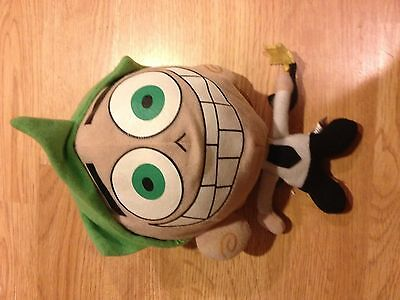 """2003 Transforming Cosmo 8"""" Plush Stuffed Action Figure Fairly Odd Parents"""