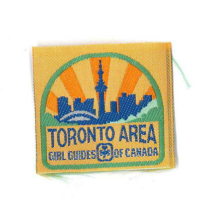 Girl Guide Scout Brownie BADGE PATCH – new! Canada Toronto Area 2""