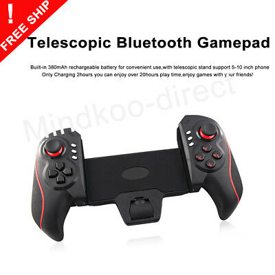 Wireless Teleskopisch Bluetooth Controller Gamepad Kabellos für Android Iphone