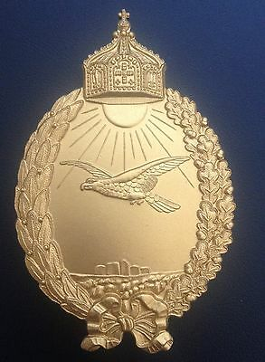 Museum Quality Ww1 German Marine Aircraft Operator Of Seaplanes Badge 1913-1919