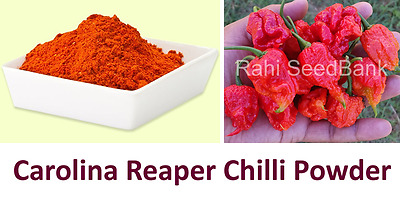 Carolina Reaper Chilli Powder - Get an Atomic Blast inside Your Mouth! 10 Grams