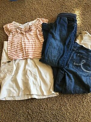 Stylish Modern Maternity Lot Pregnancy Clothes Small Gap Jeans