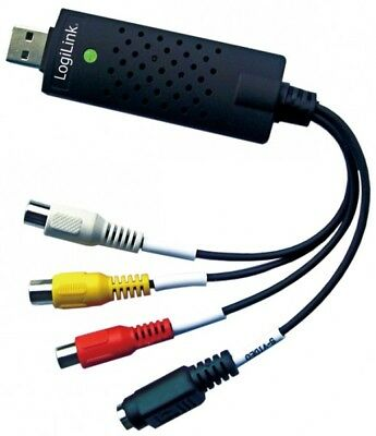 LogiLink USB 2.0 Audio und Video Grabber Digitalisierung VHS USB
