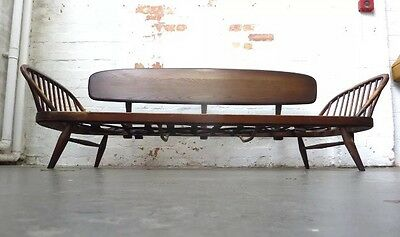 1960s VINTAGE ERCOL STUDIO COUCH SOFA DAY BED -