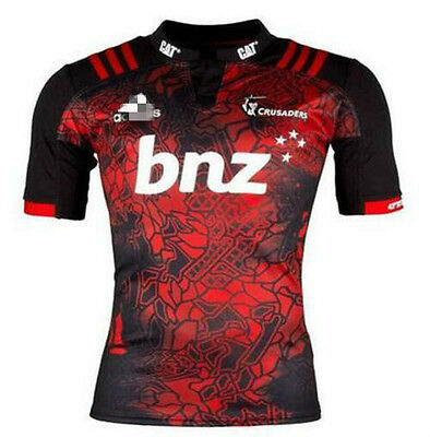 NEW 2017 Camouflage Crusaders rugby jersey shirts rugby T shirt tee Size: S-3XL