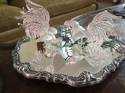 sterling silver roosters fight Camusso