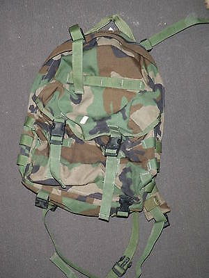Army Usmc Early Molle Patrol Pack Woodland Camo Not Assault Pack Ships Free
